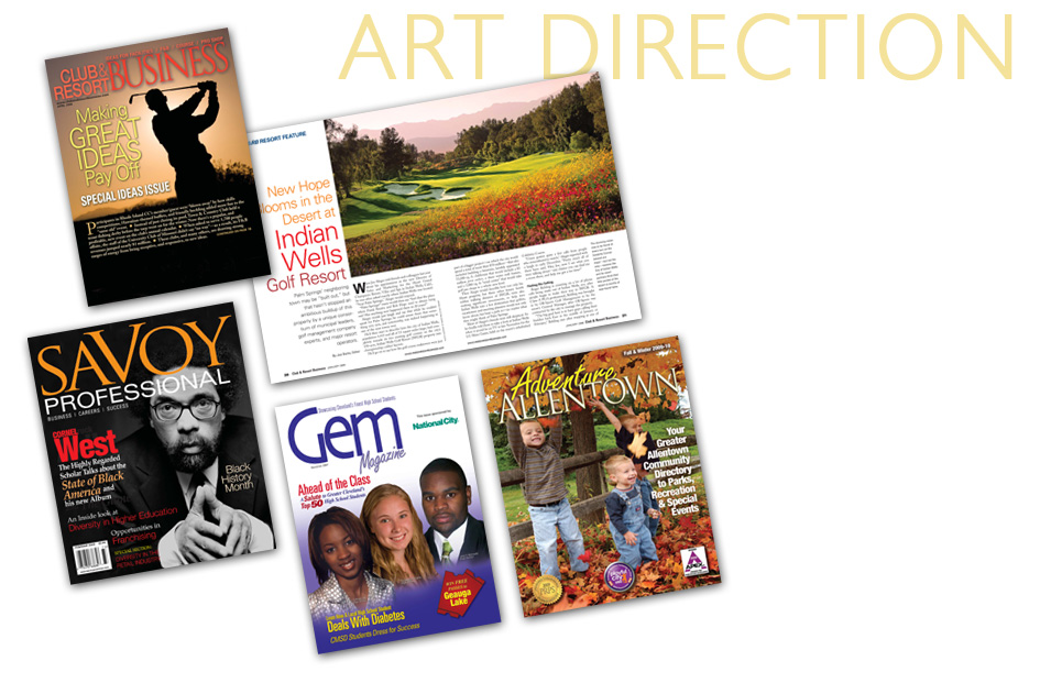 Magazine Samples with magazine design assistance from Publication Design